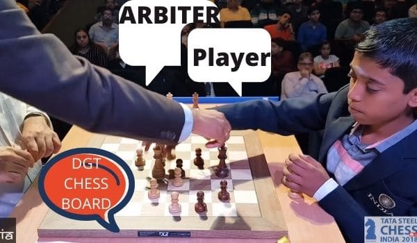Who can put the king in the middle: Chess player or Arbiter?
