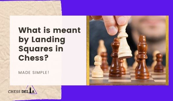 What is meant by Landing Squares in Chess
