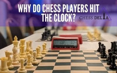 Why do chess players hit the clock_