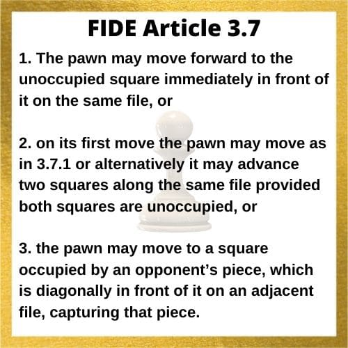 fide-article-3.7-about-pawn-moves-in-chess