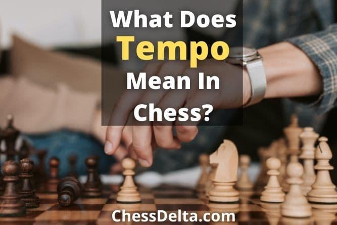 tempo-in-chess