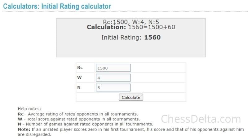 FIDE-initial-rating-calculation